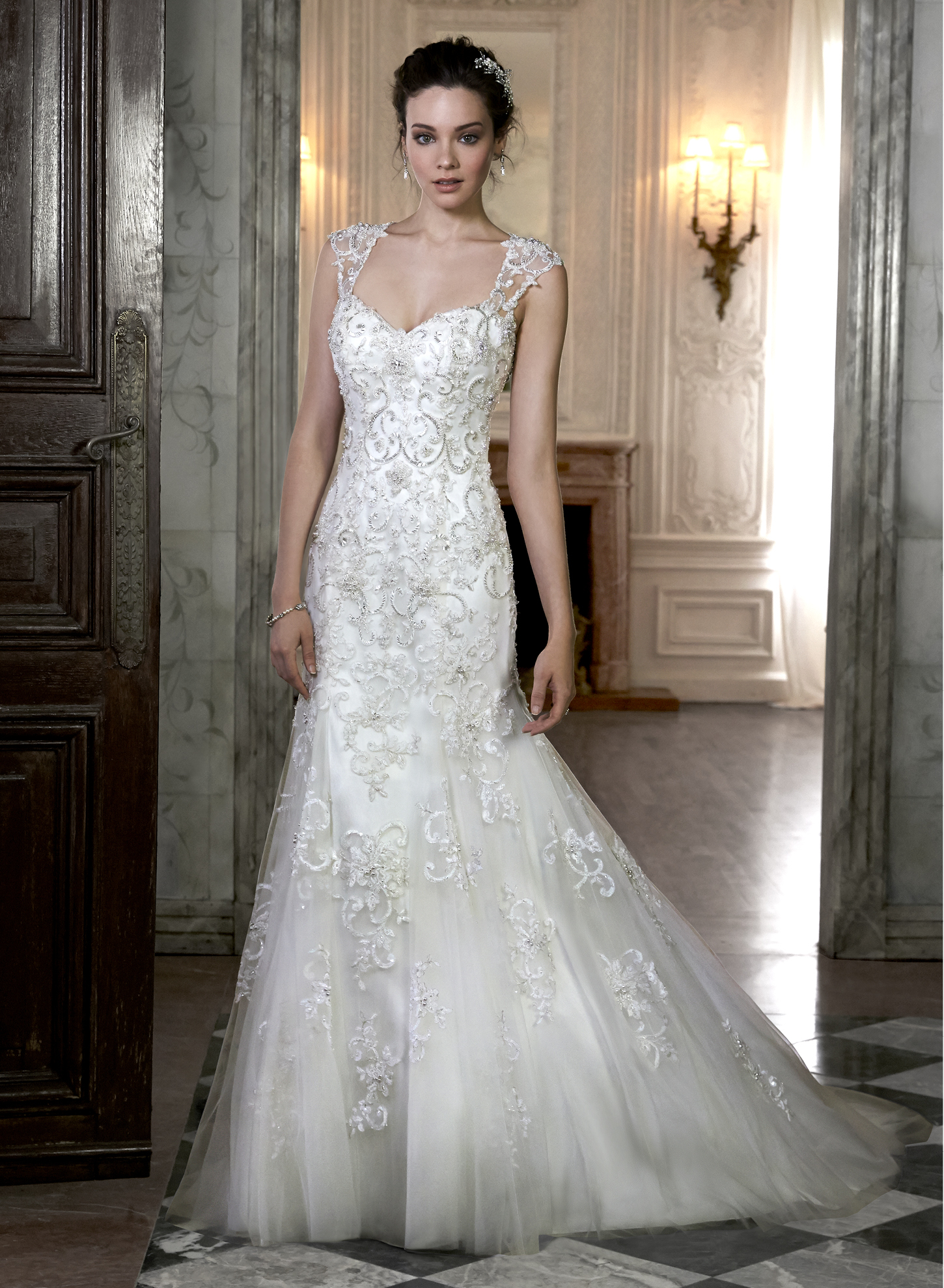 Maggie sottero cheryl catrinas bridal for Who carries maggie sottero wedding dresses