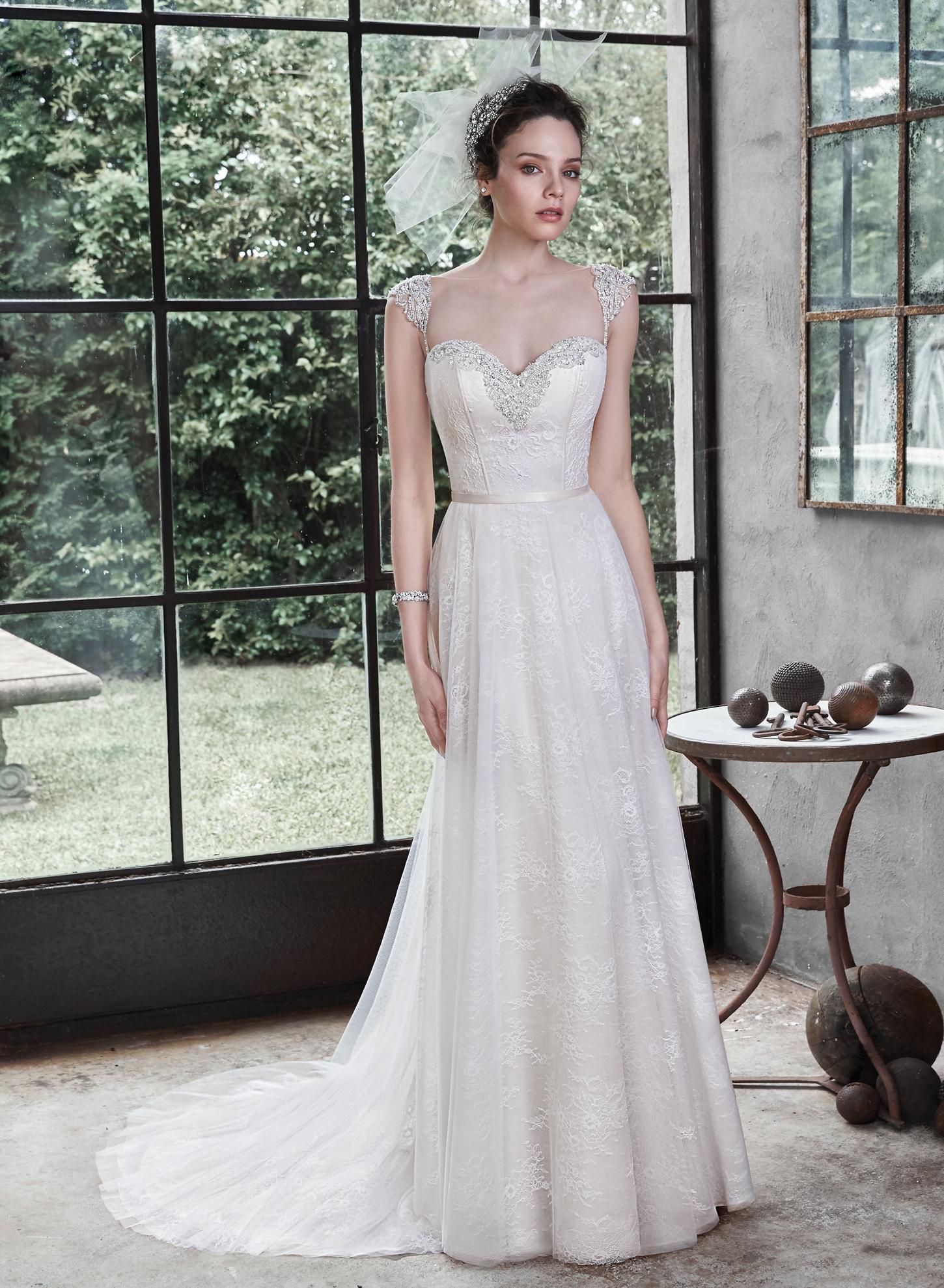 Maggie sottero alanis catrinas bridal for Maggie soterro wedding dresses