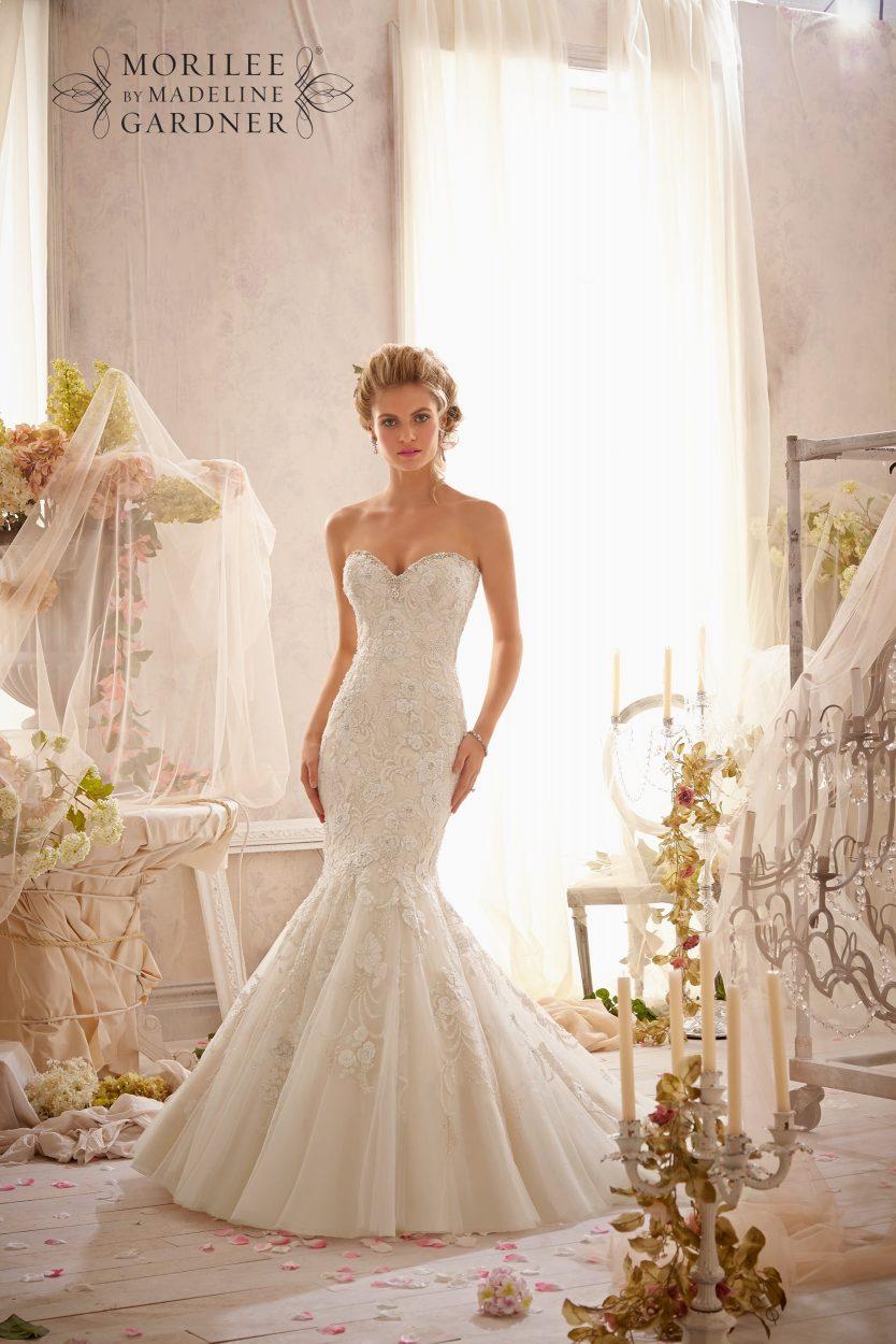 Mori lee 2623 wedding dress catrinas bridal for Mori lee ivory wedding dress
