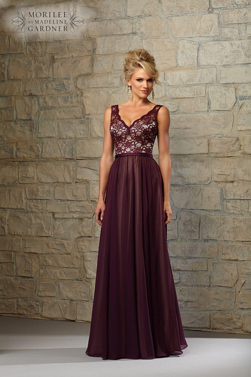 Mori lee 714 bridesmaid dress