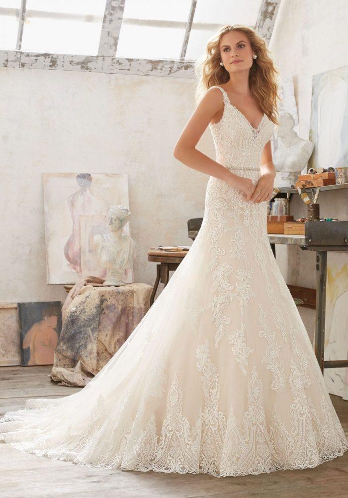 Mori lee 8122 Mariana wedding dress