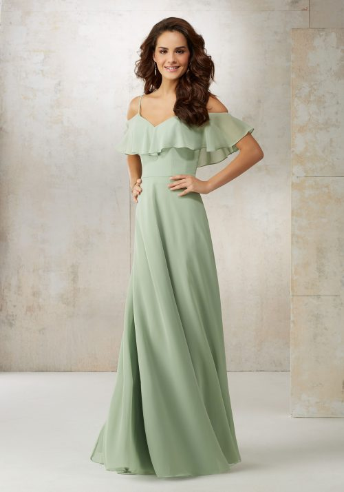 Mori lee 21509 bridesmaid dress