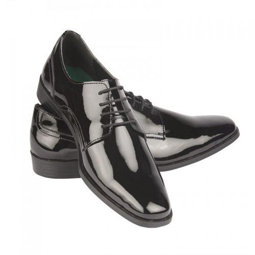 Black Patent Shoe