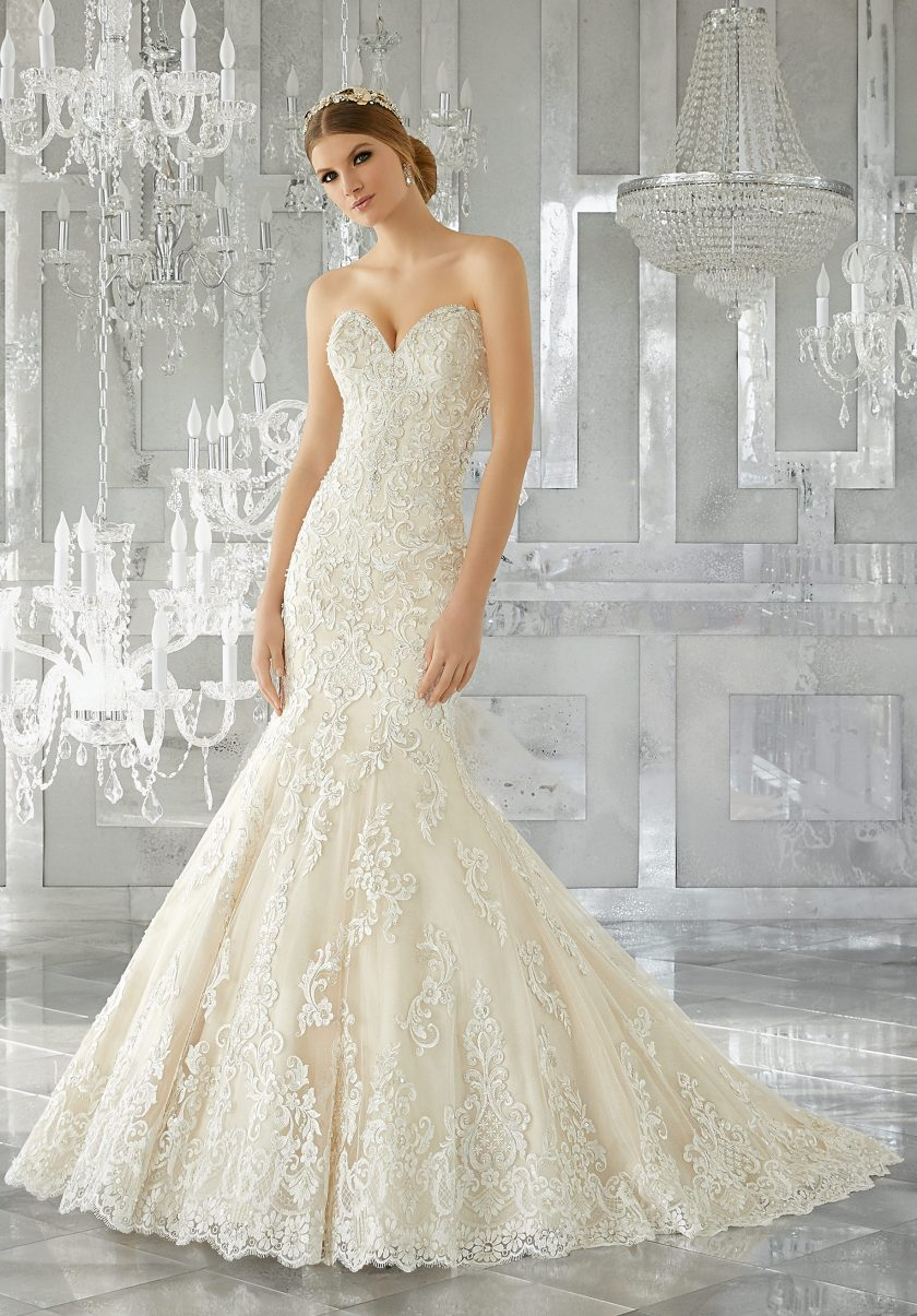 Top brands quality wedding dresses in norfolk at catrina for Where to buy mori lee wedding dresses