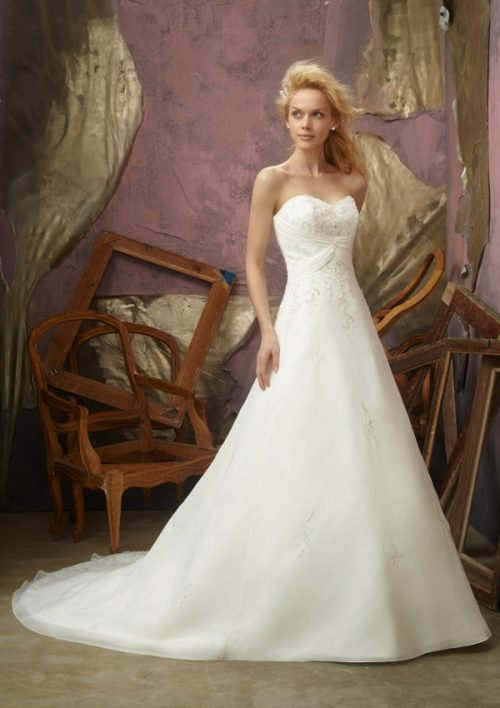 Mori lee 2105 wedding dress