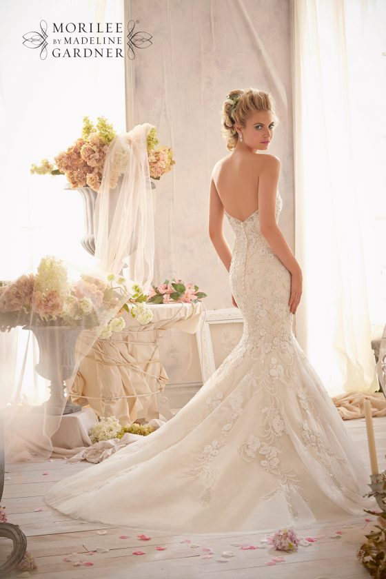 Mori lee 2623 wedding dress