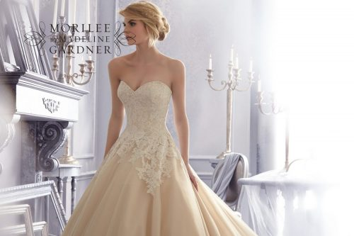 Mori lee 2674 wedding dress