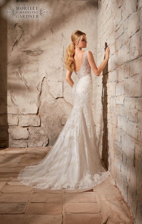Mori lee 2708 wedding dress