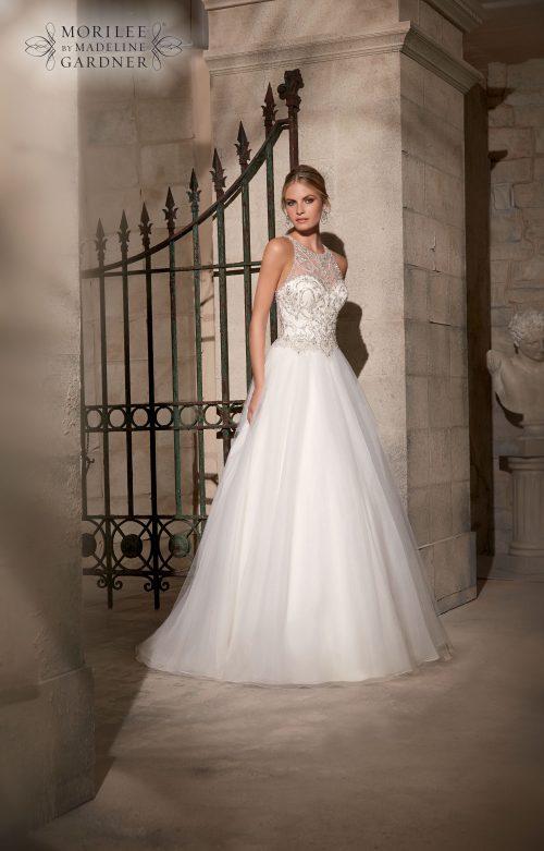 Mori lee 2711 wedding dress