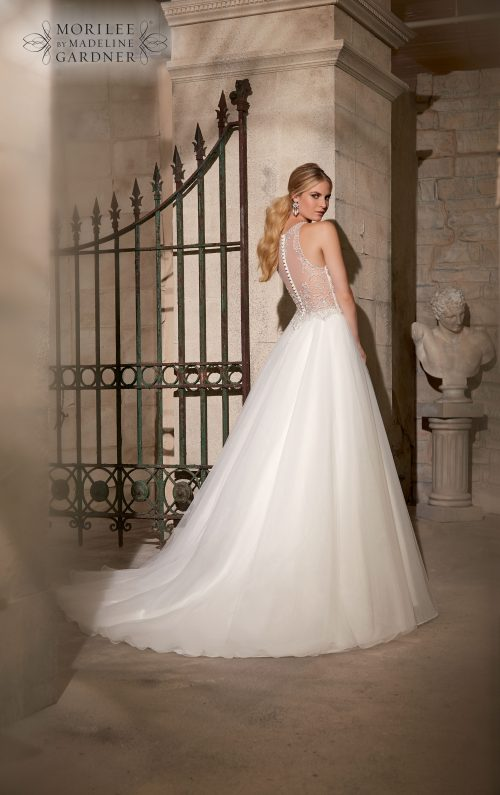 Mori lee 2711 wedding dress