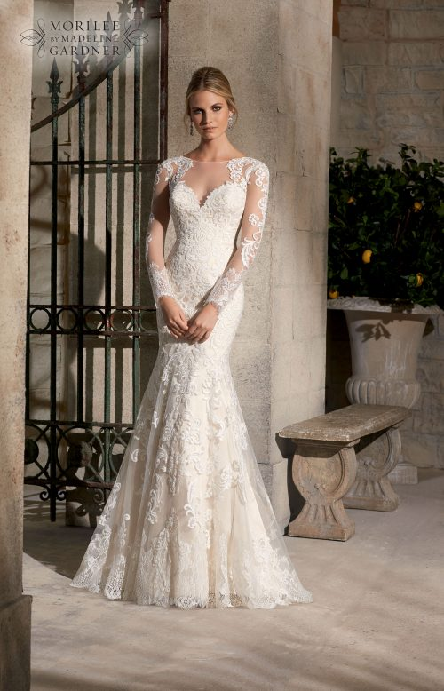 Mori lee 2725 wedding dress