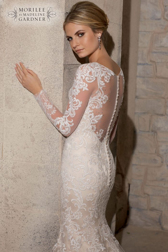 Mori lee 2725 wedding dress