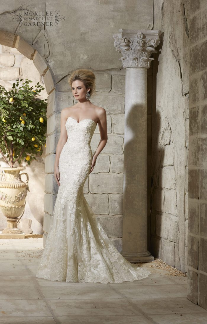Mori lee 2782 wedding dress