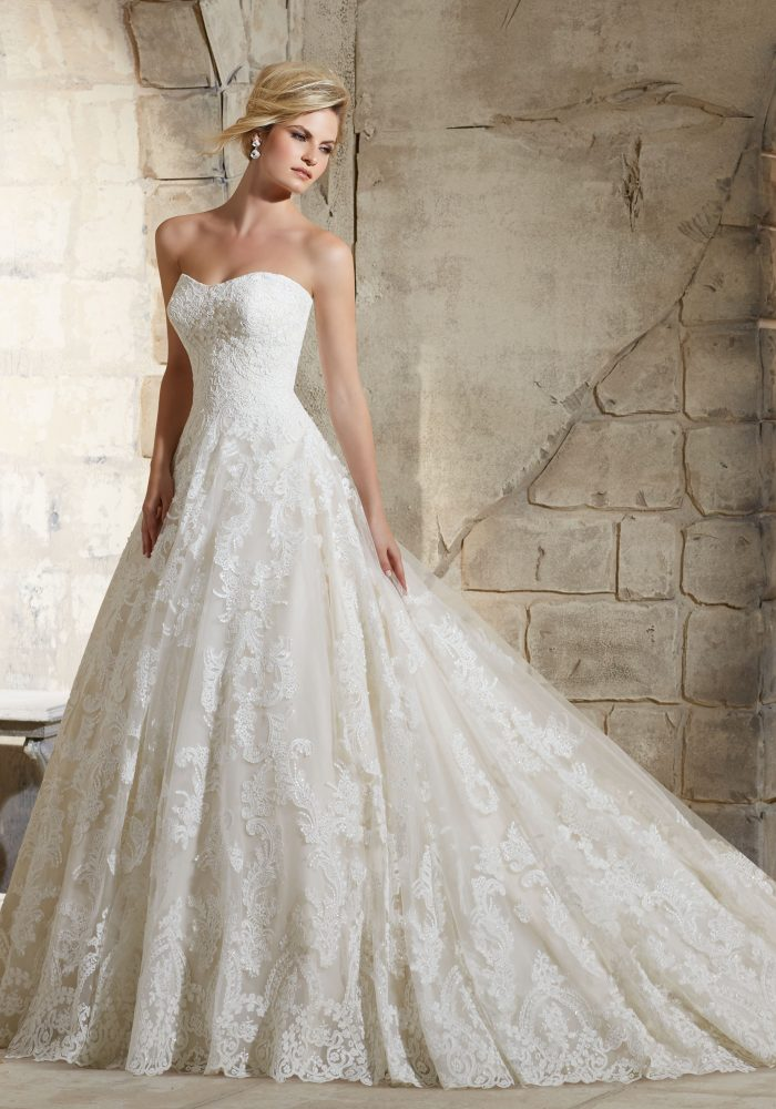 Mori lee 2787 wedding dress