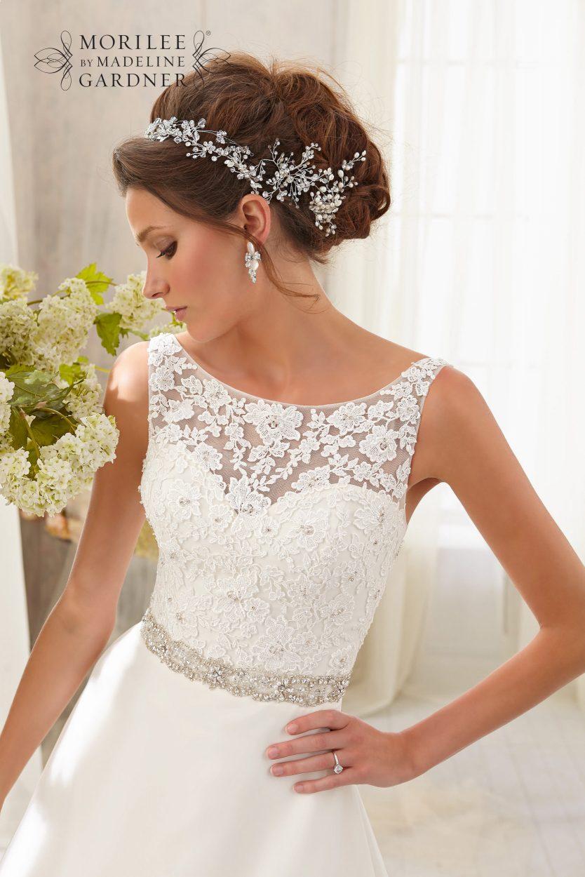 Mori lee 5204 wedding dress
