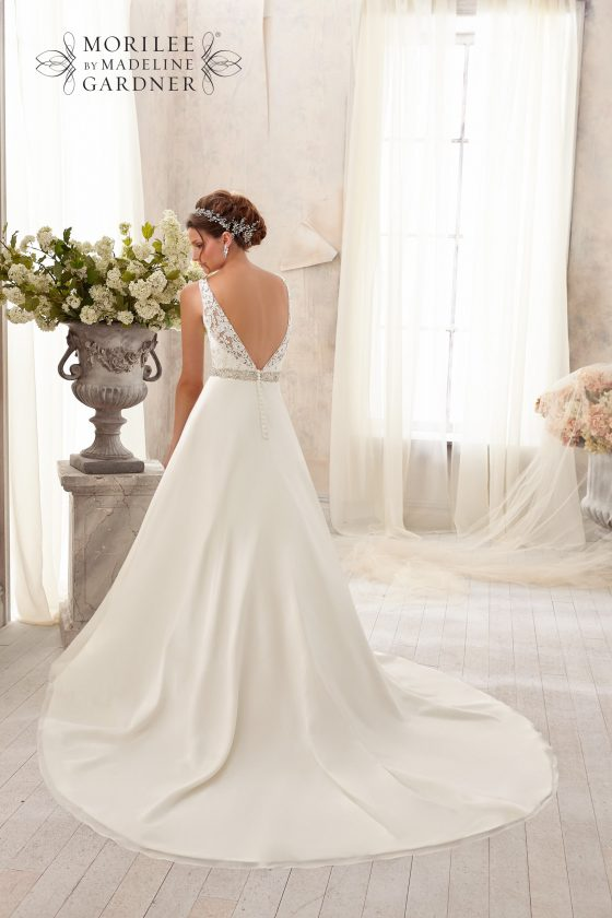 Mori lee 5204 wedding dress