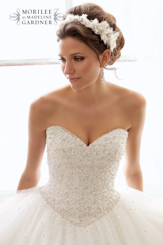 Mori lee 5216 wedding dress