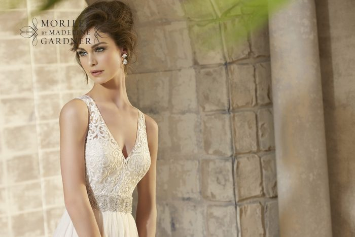 Mori lee 5371 wedding dress