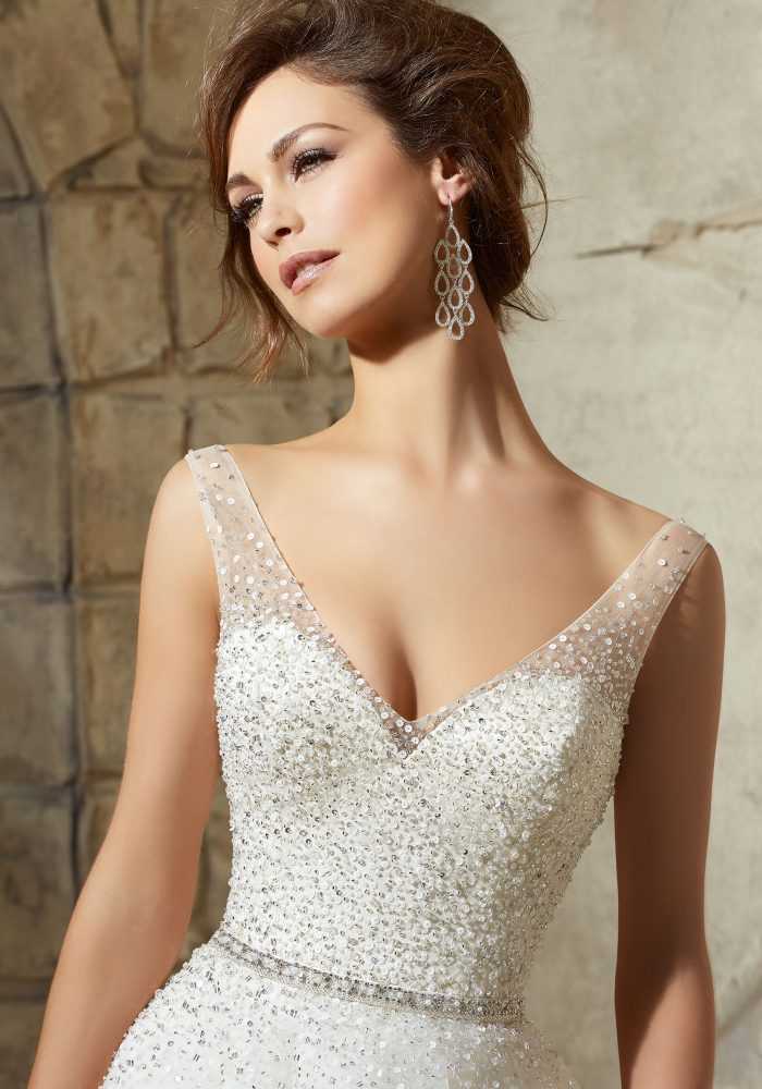 Mori lee 5376 wedding dress