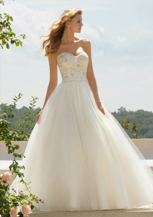 Mori lee 67491 wedding dress