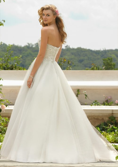 Mori lee 67491 wedding dress
