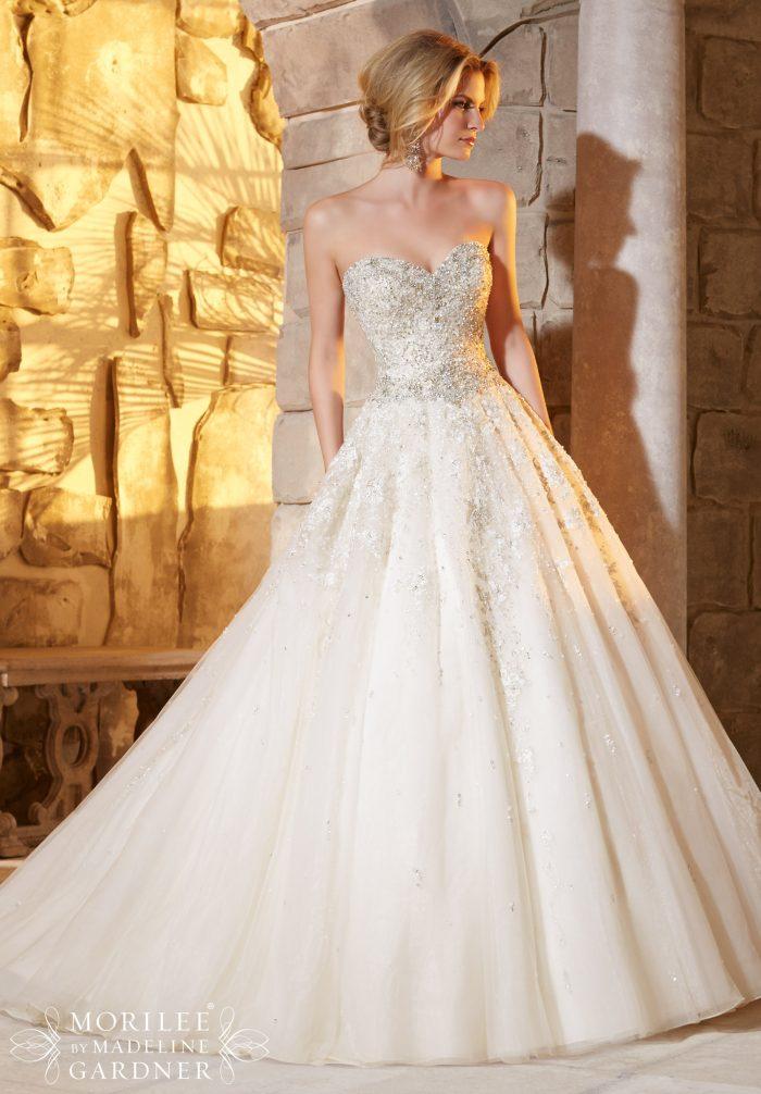 Mori lee 2791 wedding dress