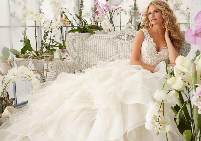 Mori lee 2805 wedding dress