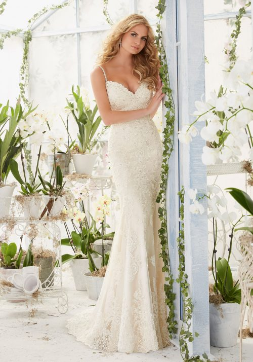 Mori lee 2807 wedding dress