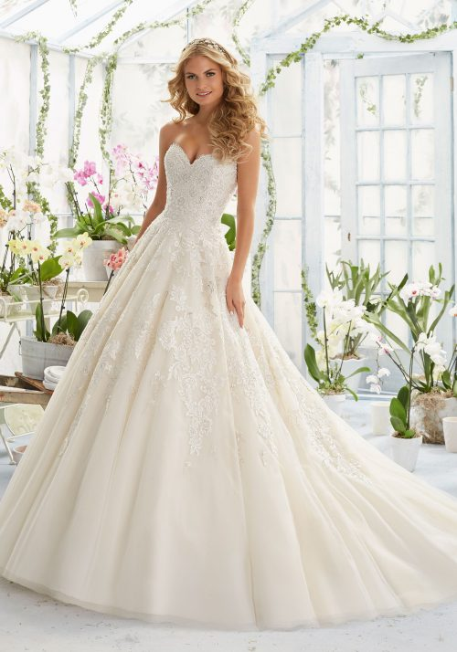 Mori lee 2808 wedding dress