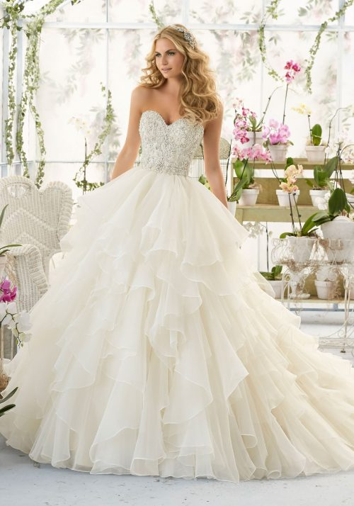 Mori lee 2815 wedding dress
