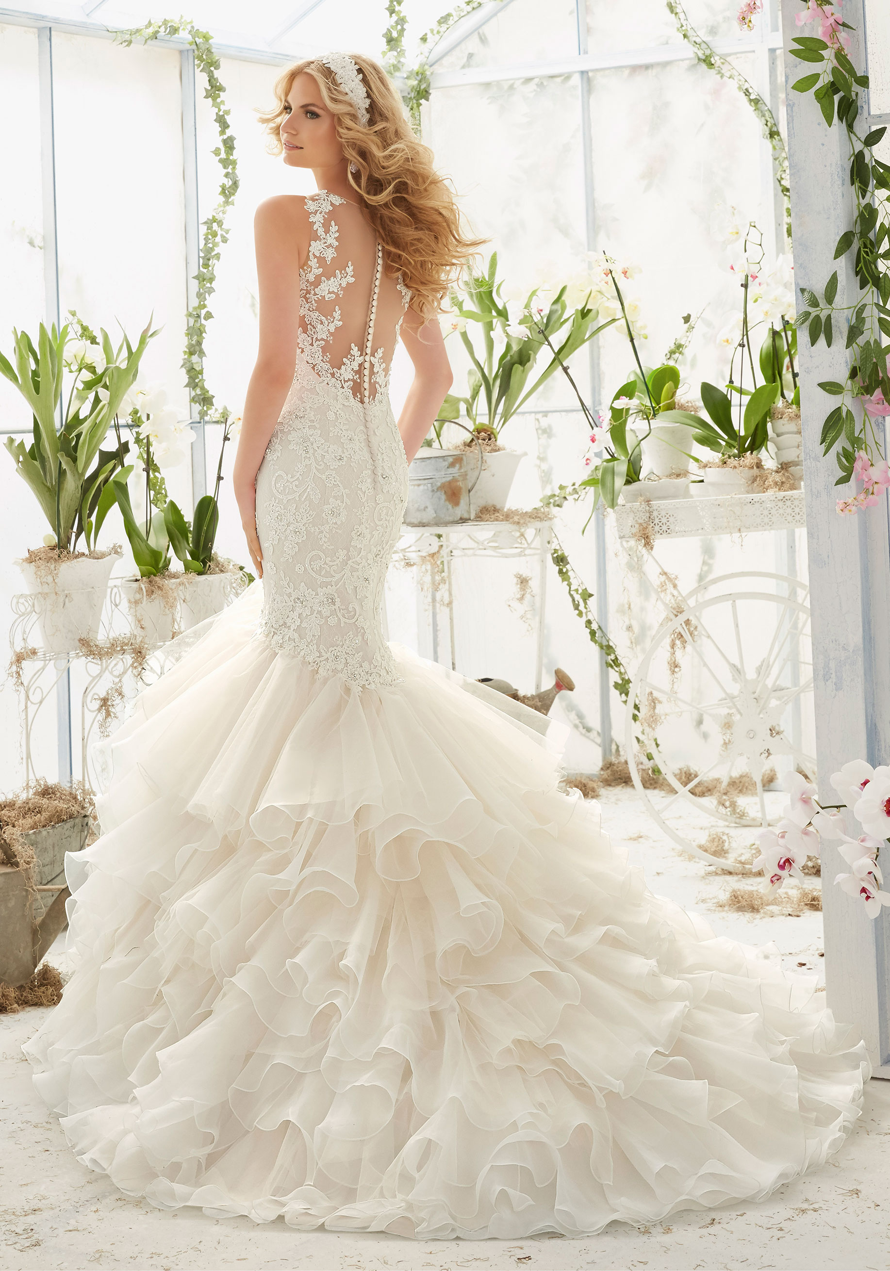 Mori Lee 2819 Wedding Dress Catrinas Bridal