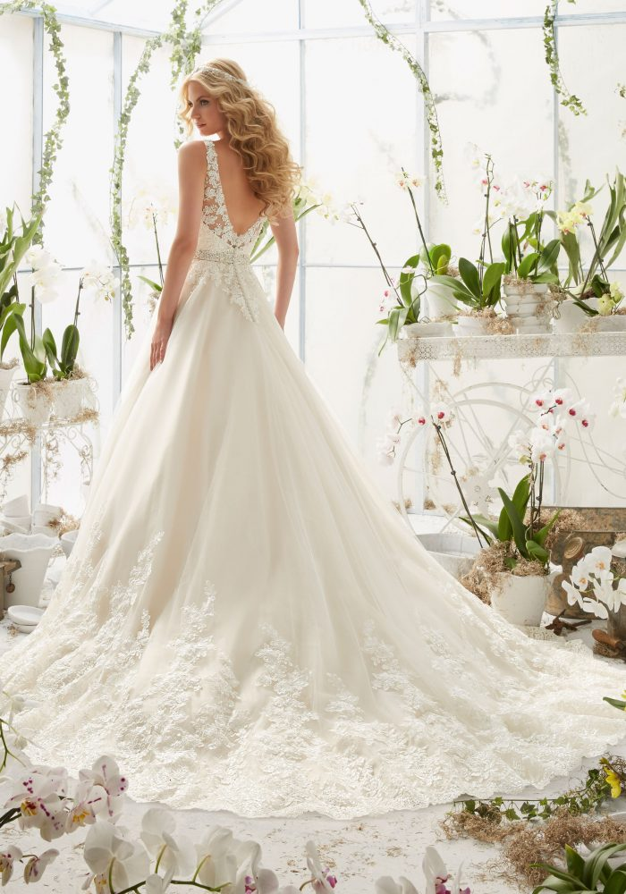 Mori lee 2821 wedding dress