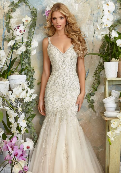 Mori lee 2823 wedding dress