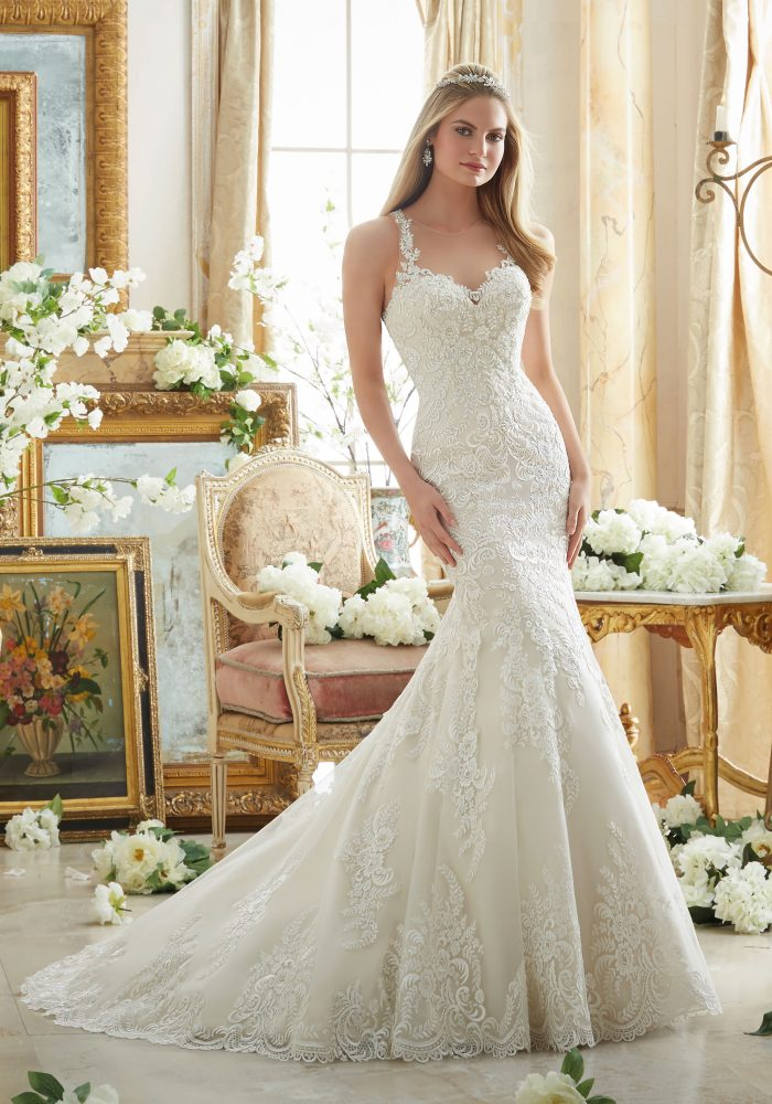 Mori lee 2876 wedding dress