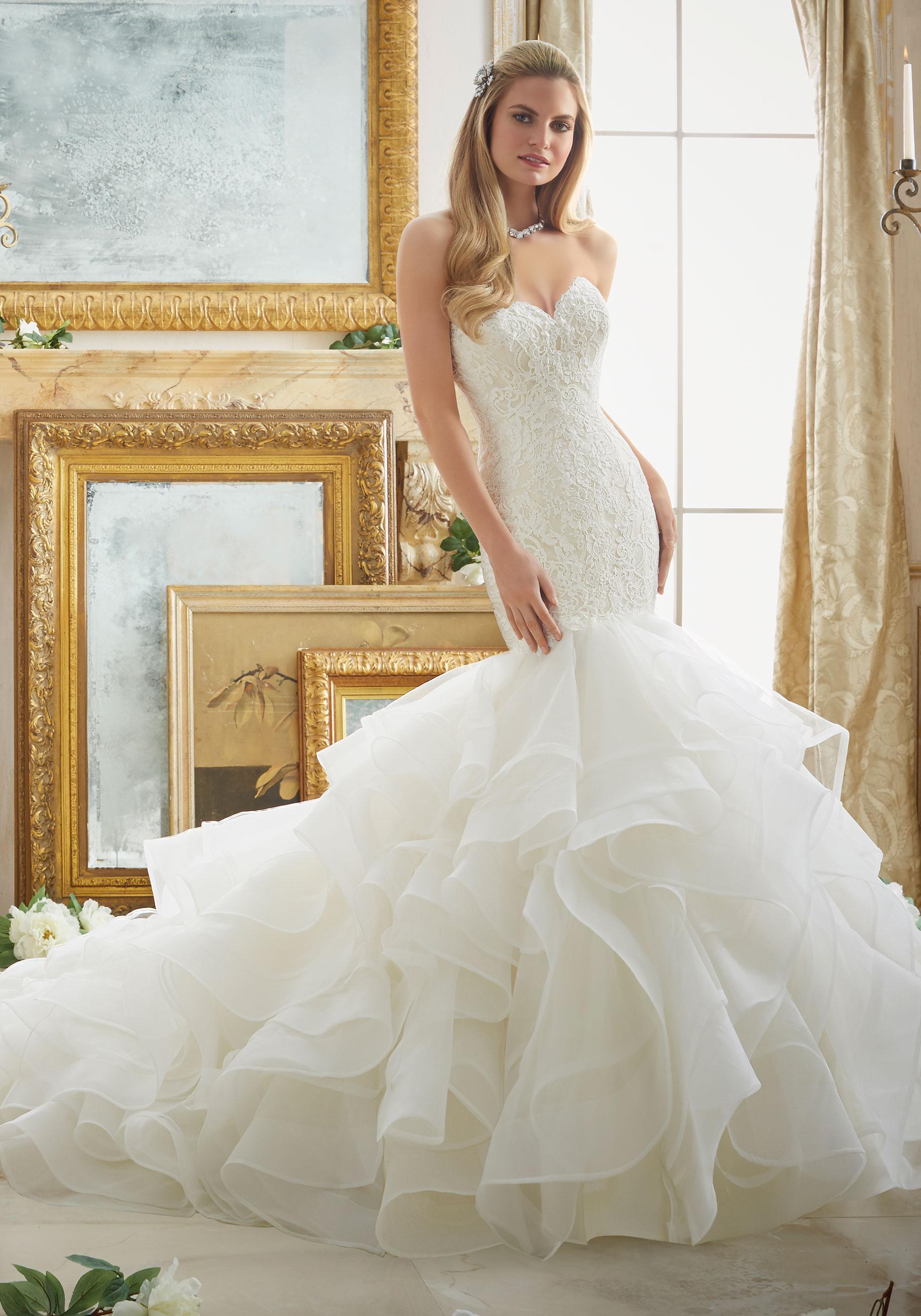 Beautiful Wedding Dresses.Mori Lee 2879 Wedding Dress