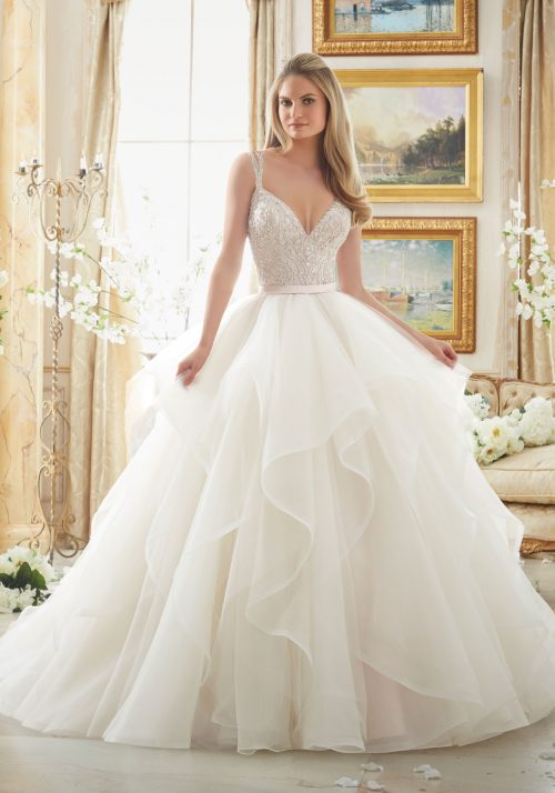 Mori lee 2887 wedding dress