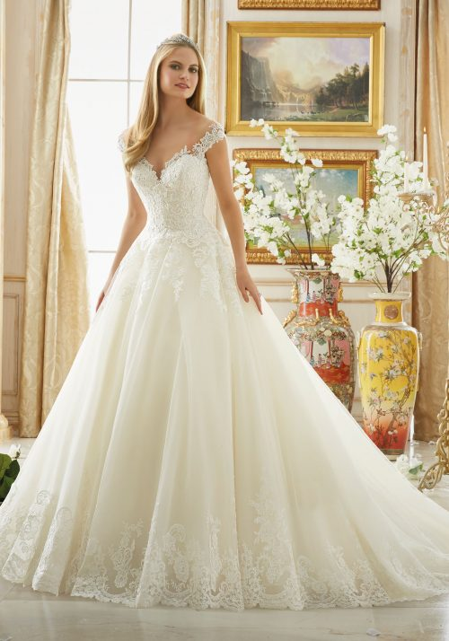 Mori lee 2889 wedding dress