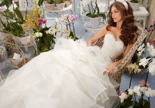 Mori lee 5401 wedding dress