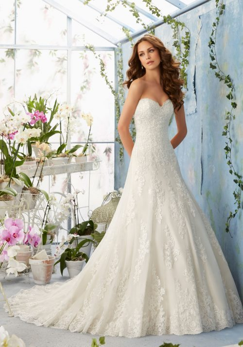 Mori lee 5404 wedding dress