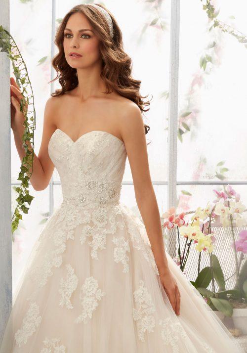 Mori lee 5406 wedding dress