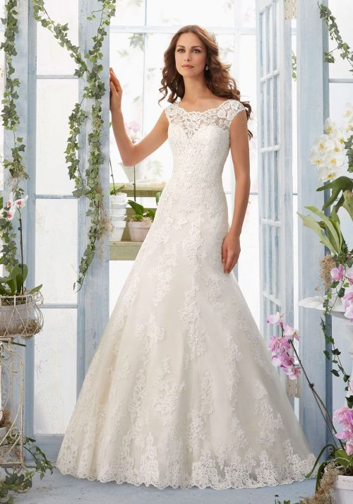 Mori lee 5410 wedding dress