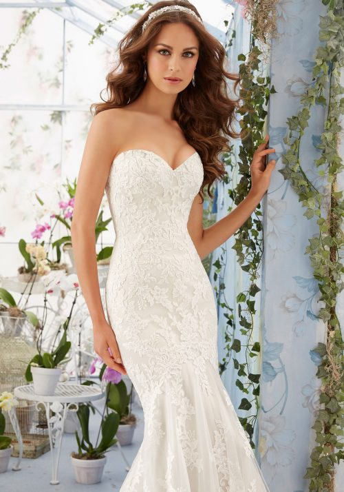 Mori lee 5413 wedding dress