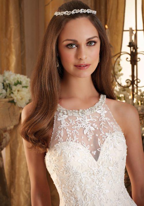 Mori lee 5462 wedding dress
