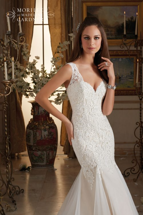 Mori lee 5464 wedding dress
