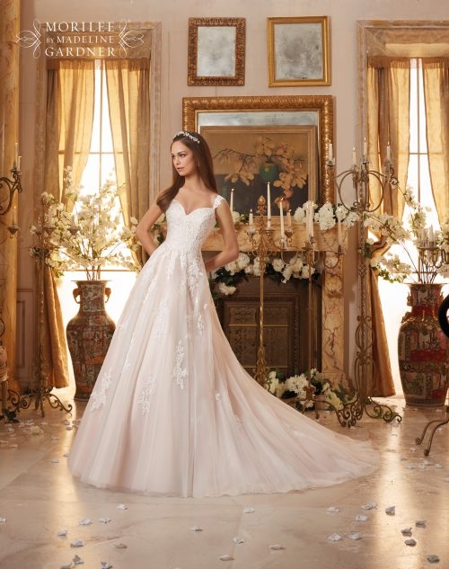 Mori lee 5468 wedding dress