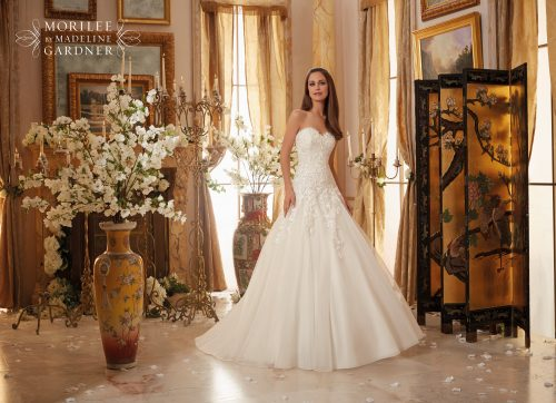 Mori lee 5470 wedding dress