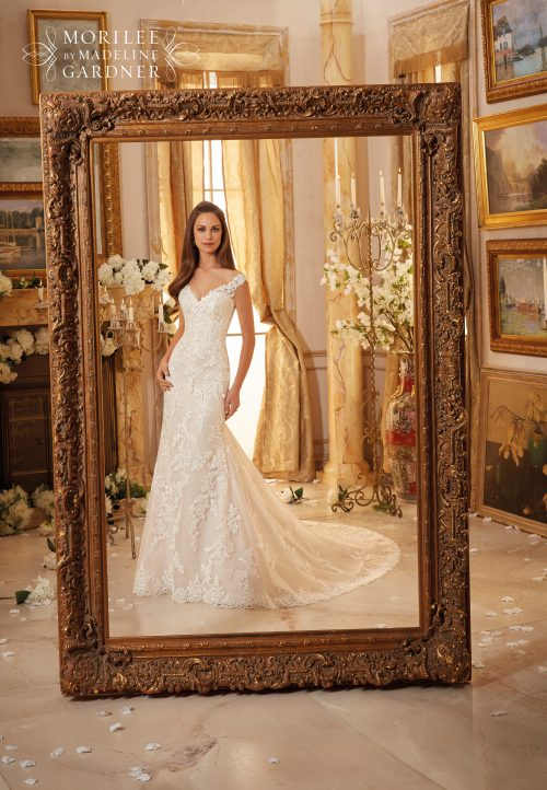 Mori lee 5471 wedding dress