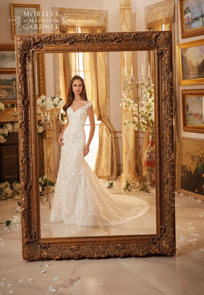 Mori lee 5471 wedding dress