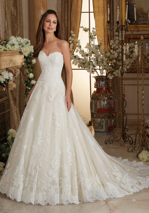 Mori lee 5473 wedding dress