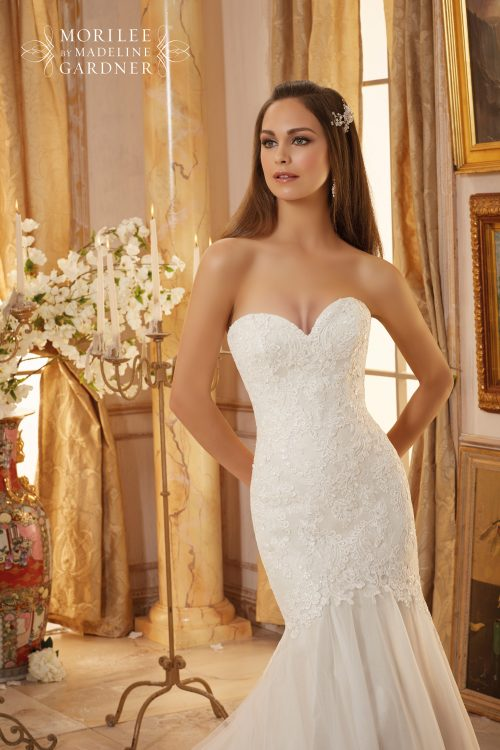 Mori lee 5475 wedding dress